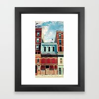 19th Street Framed Art Print