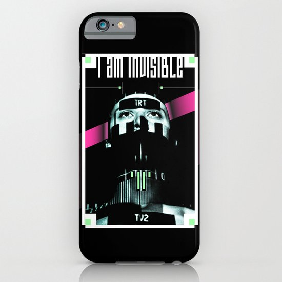 I AM INVISIBLE iPhone & iPod Case