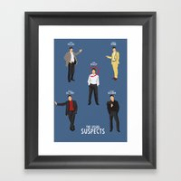 The Usual Suspects - Alt… Framed Art Print