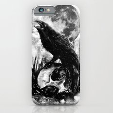 Crow and Skull Slim Case iPhone 6s
