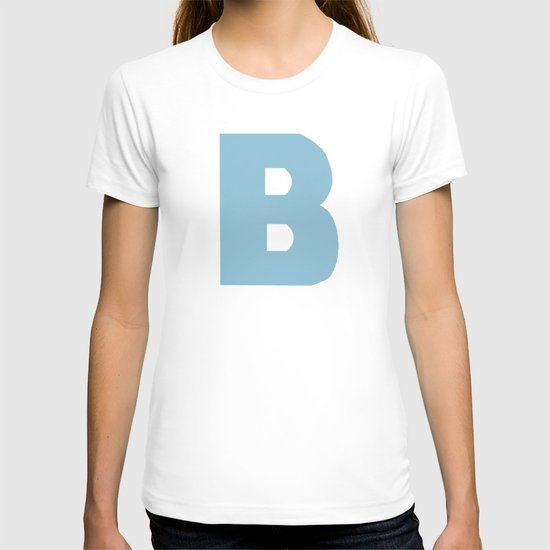 Blue B T-shirt