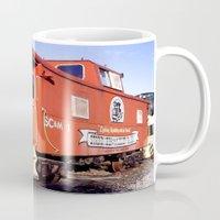 Lil Red Caboose -Wellsboro Ave Hurley ArtRave Mug