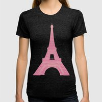 OUI OUI Womens Fitted Tee Tri-Black SMALL