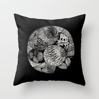 Drawing 2 Throw Pillow