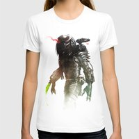 Predator Womens Fitted Tee White SMALL