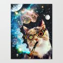 High Cat Canvas Print