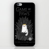 Game of Paws iPhone & iPod Skin