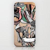 Flower Skull iPhone 6 Slim Case