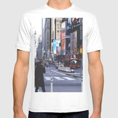 Let my imagination go White Mens Fitted Tee SMALL