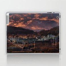 Doom Looms Around The Village Laptop & iPad Skin