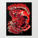 BUG STOMPER Canvas Print