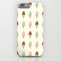 iPhone & iPod Case featuring Ice Cream - Whipped by ajoo