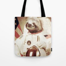 Sloth Astronaut Tote Bag