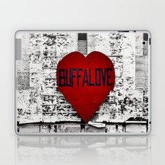 Buffalo Love black white and red Laptop & iPad Skin