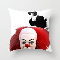 Pennywise The Clown: Mon… Throw Pillow