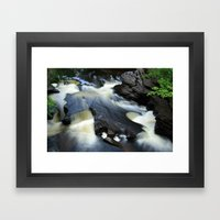 Silky Framed Art Print