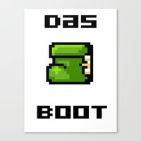 Das Boot Canvas Print