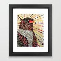 Bateleur Eagle Framed Art Print