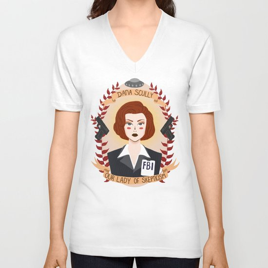 Dana Scully V-neck T-shirt