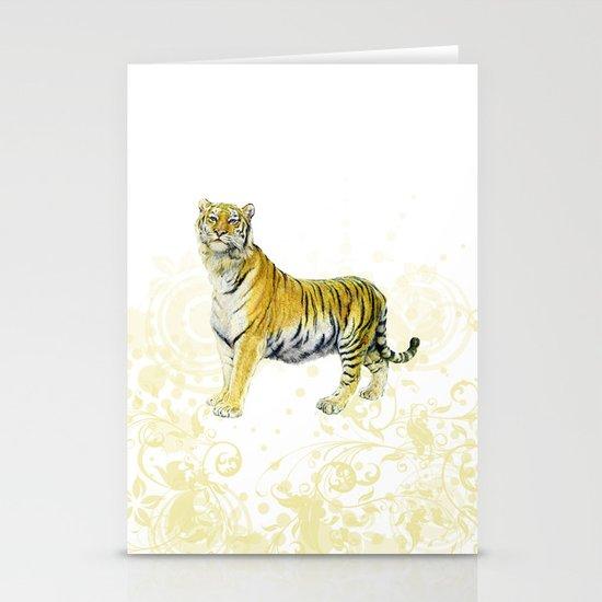 Tiger Stationery Card