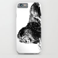 iPhone & iPod Case featuring Lion Pen Strokes by ARTNOIS Magazine