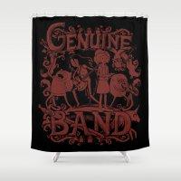 Genuine Band Shower Curtain