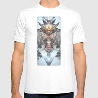 Avenging Angel Mens Fitted Tee White SMALL