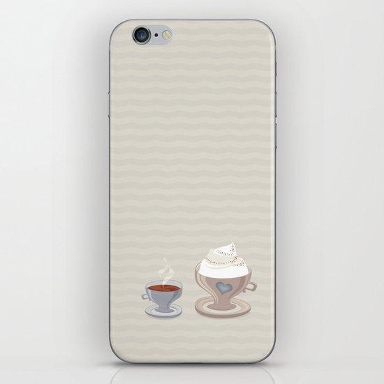 Coffee for Two iPhone & iPod Skin