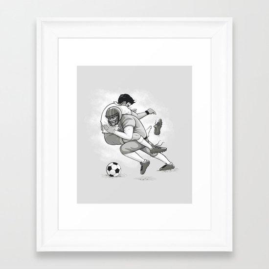 This is Football! Framed Art Print