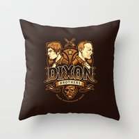 Dixon Brothers Walker Extermination Throw Pillow