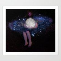 Night Watcher Art Print