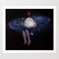 Night Watcher Art Print
