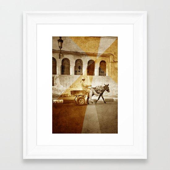 hiT tHe RoAd . . . Framed Art Print