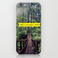 iPhone & iPod Case featuring What a Wonderful World by Leah Flores