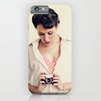 iPhone & iPod Case featuring Vintage Photography by Irene Miravete