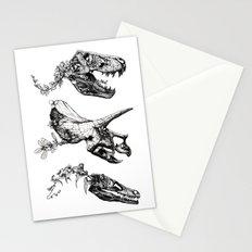 Jurassic Bloom. Stationery Cards