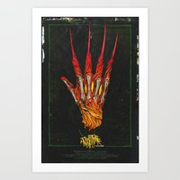 Nightmare on Elm St. Art Print