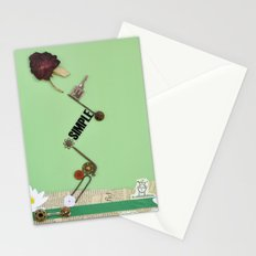 the rose  spring Stationery Cards