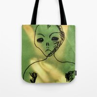 We Come In Peace. Tote Bag
