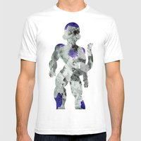 Lord Frieza - Digital Wa… Mens Fitted Tee White SMALL