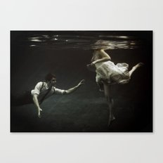 abyss of the disheartened : X Canvas Print
