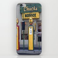 Old Service Station iPhone & iPod Skin