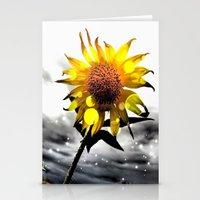 Solar Flower Stationery Cards