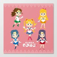 Sailor Moon Canvas Print