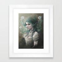 Victoria Van Violence Framed Art Print