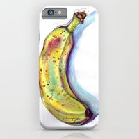 iPhone & iPod Case featuring Banana! by Laura May Taylor