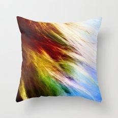 Toodles Goldenhair Throw Pillow