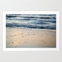 Shore Line Art Print