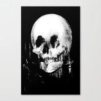 All Is Vanity: Halloween… Canvas Print