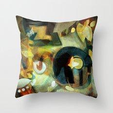 Elements III - Earth Dance Throw Pillow